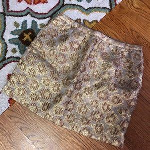 J. Crew mini skirt. Sz. 0. EUC!